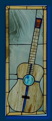 Stained Glass Guitar 04-07b
